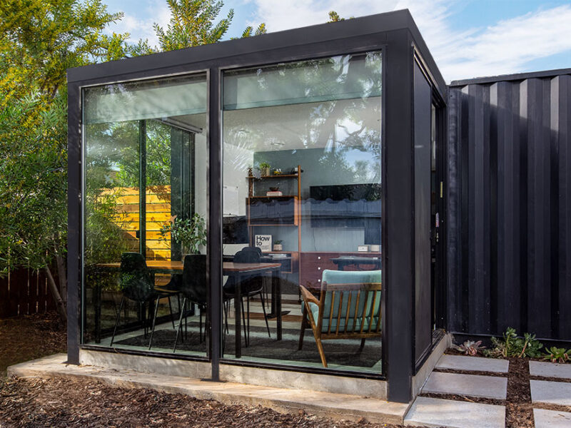 Container conversion office